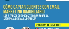 "Webinar ""Cómo captar clientes con email marketing inmobiliario"""